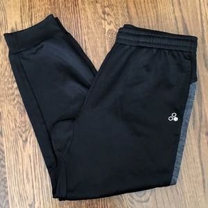 TEK GEAR Mens Tapered Leg Training Pants Large
